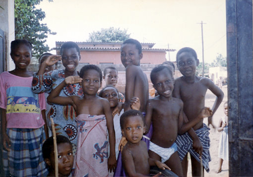 Kids in Kodjoviakope
